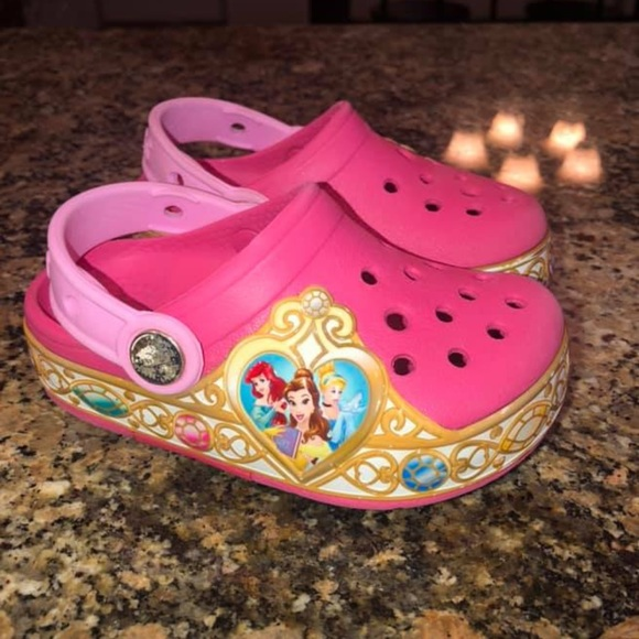 CROCS Shoes | Disney Princess Light Up